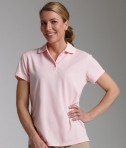 Charles River Apparel 2811 Womens Classic Wicking Polo Pink