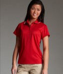 Charles River Apparel 2811 Womens Classic Wicking Polo Red