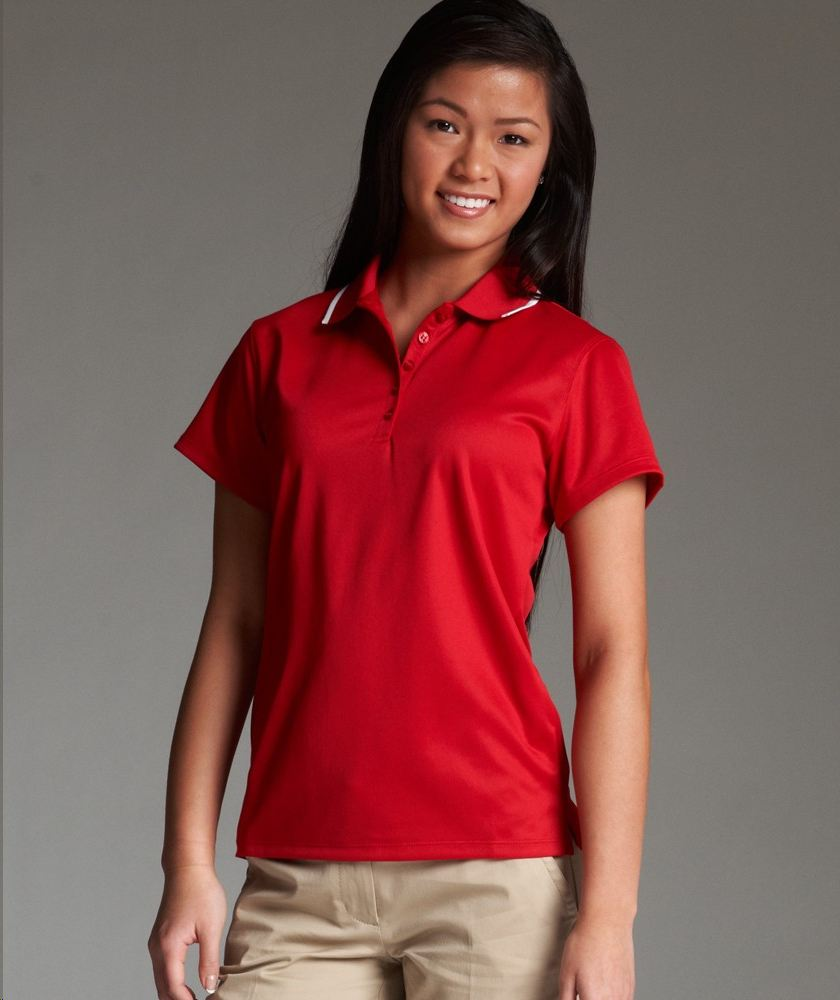 Charles river apparel style 2811 women 39 s classic wicking for Women s dri fit polo shirts wholesale