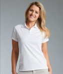 Charles River Apparel 2811 Womens Classic Wicking Polo White