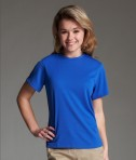 Charles River Apparel Style 2830 Women's Pique Wicking Tee Royal