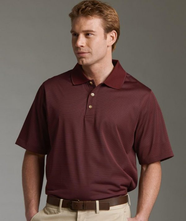 Charles River Apparel Style 3160 Men's MicroStripe Polo