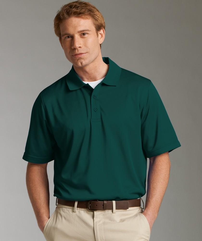 Charles River Apparel Style 3213 Menu0026#39;s Smooth Knit Solid Wicking Polo - Casual Clothing for Men ...