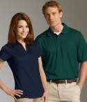Charles River Apparel 3213 Mens Smooth Knit Wicking Polo Shirt His and Hers