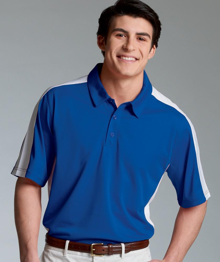 Charles River Apparel Style 3315 Men's Micropique Wicking Polo 1