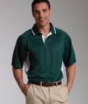 Charles River Apparel Style 3810 Men's Color Blocked Wicking Polo