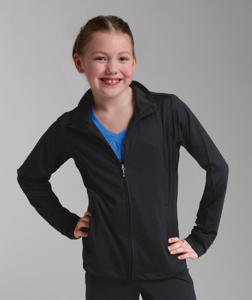 Charles River Apparel Style 4186 Girls' Fitness Jacket 1