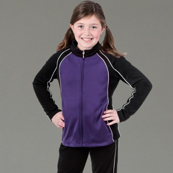 Charles River Apparel Style 4984 Girls' Olympian Jacket 1