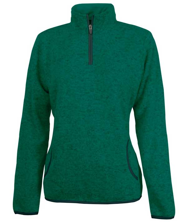 Charles River Apparel Style 5312 Women's Heathered Fleece Pullover