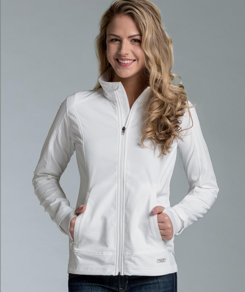 Charles River Apparel Style 5317 Women's Axis Soft Shell Jacket 1