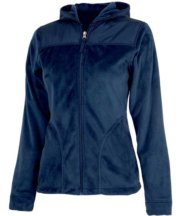 Charles River Apparel Style 5333 Women's Serenity Silken Fleece Hoodie