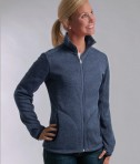 Charles River Apparel Style 5493 Women's Heathered Fleece Jacket