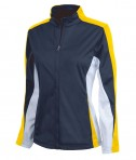 Charles River Apparel 5494 Women's Energy Jacket - Navy/Gold/White