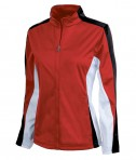 Charles River Apparel 5494 Women's Energy Jacket - Red/Black/White