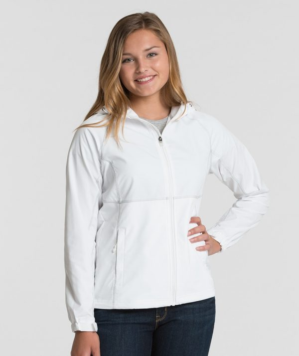Charles River Apparel 5611 Womens Latitude Jacket White