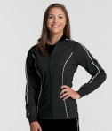 Black Charles River Apparel 5673 Women's Rev Jacket