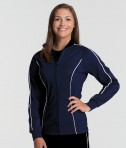 Navy Charles River Apparel 5673 Women's Rev Jacket