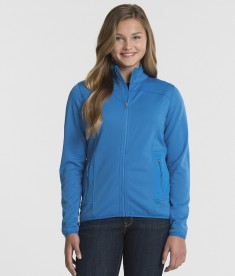 Charles River Apparel 5683 Women's Waypoint Birdseye Fleece Jacket Cobalt
