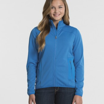 charles-river-apparel-5683-womens-waypoint-birdseye-fleece-jacket-cobalt