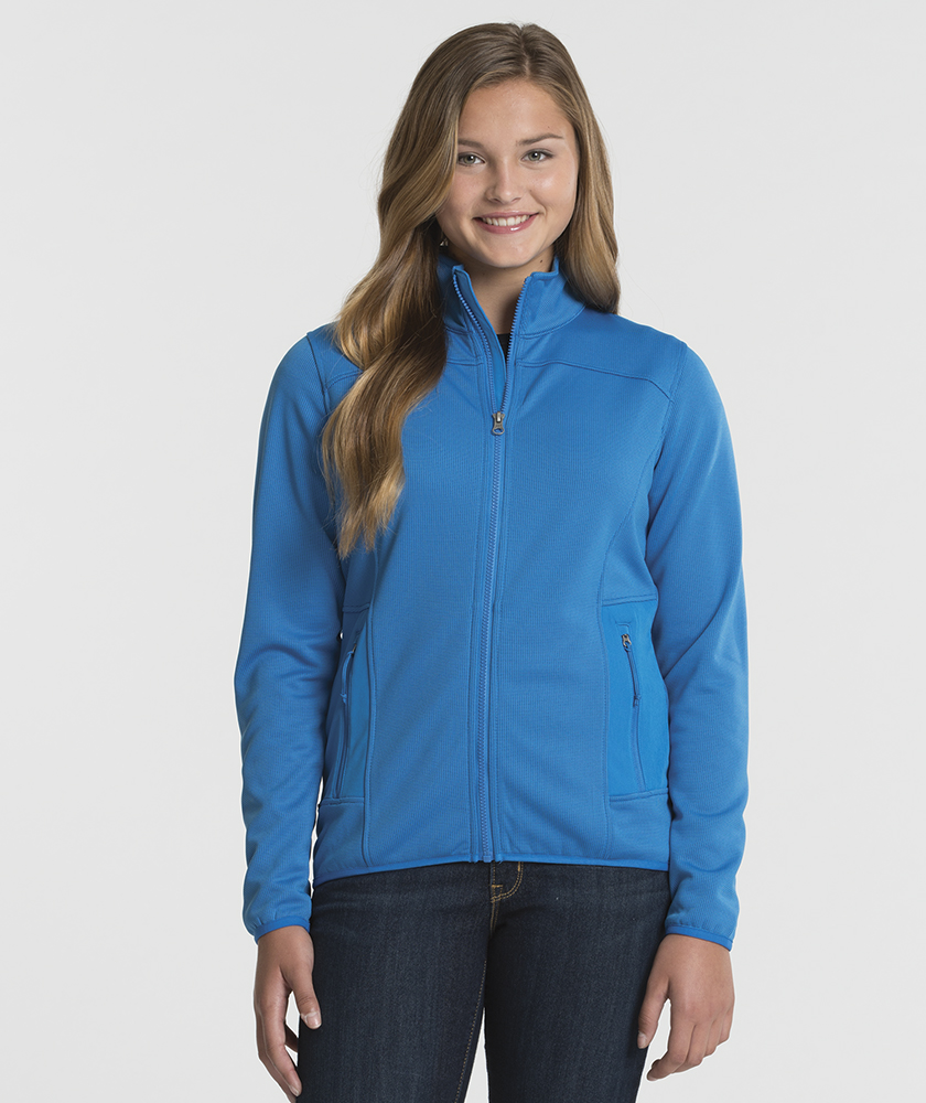 Charles River Apparel 5683 Women's Waypoint Birdseye Fleece Jacket