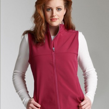 Charles River Apparel Style 5819 Women's Soft Shell Vest 1