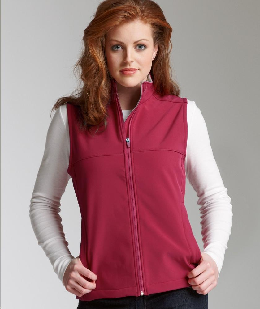 Apparel 5819 Soft Shell River Women's Style Casual Vest Charles 6BqRgwS4R