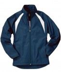 Charles River Apparel 5954 Women's TeamPro Polyester Jacket - Navy/White