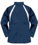 Charles River Apparel 5954 Women's TeamPro Polyester Jacket - Navy/White Rear