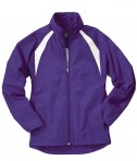Charles River Apparel 5954 Women's TeamPro Polyester Jacket - Purple/White