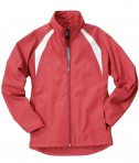 Charles River Apparel 5954 Women's TeamPro Polyester Jacket - Red/White