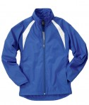 Charles River Apparel 5954 Women's TeamPro Polyester Jacket - Royal/White