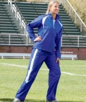 Charles River Apparel 5958 Womens TeamPro Athletic Pants Royal White