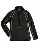 Charles River Apparel 5984 Womens Olympian Jacket Forest Black White
