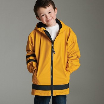 Charles River Apparel Style 7099 Children's New Englander Rain Jacket 1