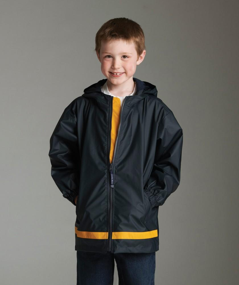 Charles River Apparel Style 8099 Youth New Englander Rain Jacket 1