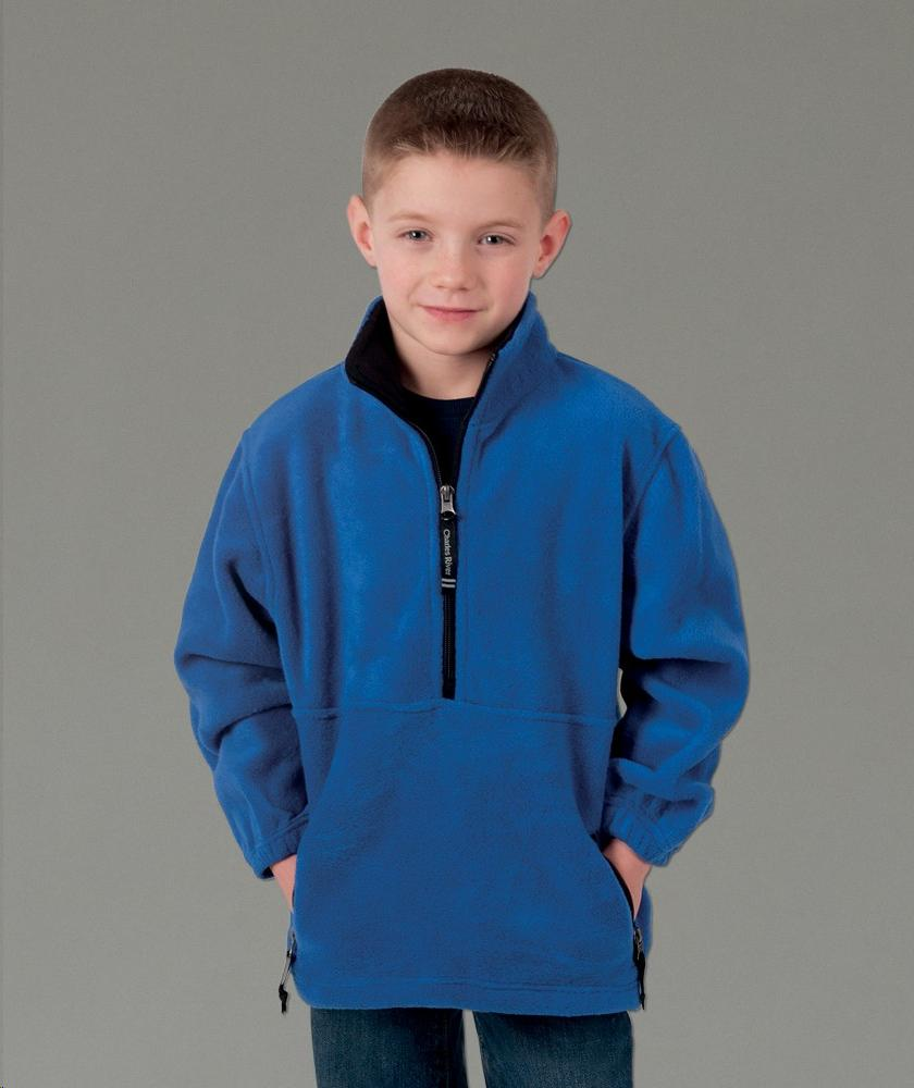 Charles River Apparel Style 8501 Youth Adirondack Fleece Pullover 1
