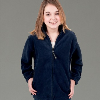 Charles River Apparel Style 8502 Youth Voyager Fleece Jacket 1