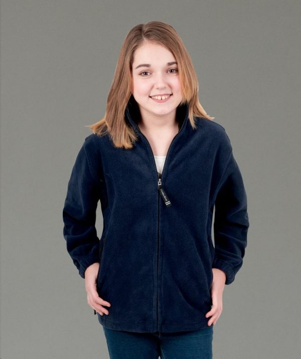 Charles River Apparel Style 8502 Youth Voyager Fleece Jacket