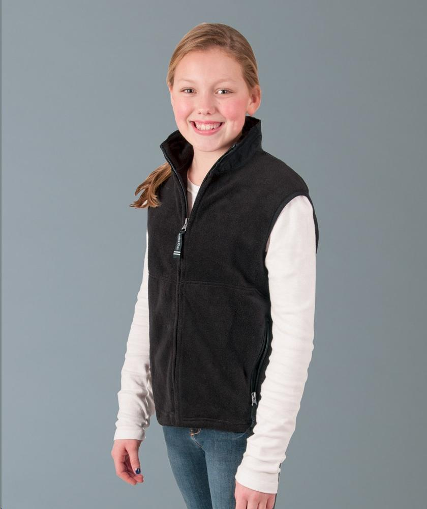 Charles River Apparel Style 8503 Youth Ridgeline Fleece Vest 1