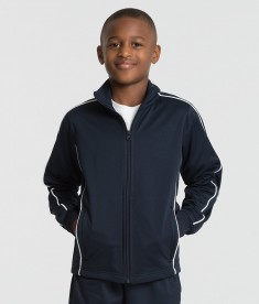 Charles River Apparel 8673 Youth Rev Team Jacket Navy