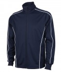 Charles River Apparel 8673 Youth Rev Team Jacket Navy Full View