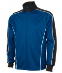 Charles River Apparel 8673 Youth Rev Team Jacket Royal Black Full View