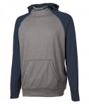 Charles River Apparel 8690 Youth Field Long Sleeve Sweatshirt Navy Heather Full View