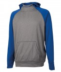 Charles River Apparel 8690 Youth Field Long Sleeve Sweatshirt Royal Heather Full View