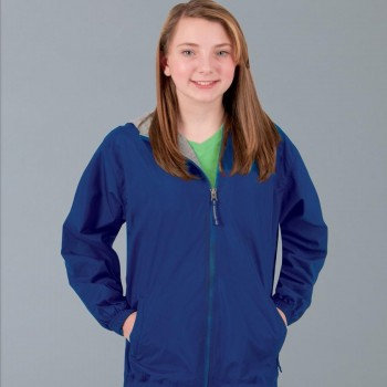 Charles River Apparel Style 8720 Youth Portsmouth Jacket 1