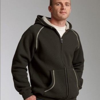 Charles River Apparel Style 9149 Thermal Bonded Sherpa Sweatshirt 1