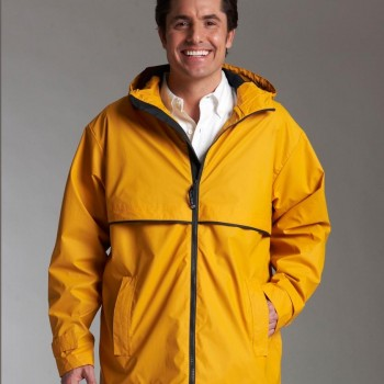Charles River Apparel Style 9199 Men's New Englander Rain Jacket 1
