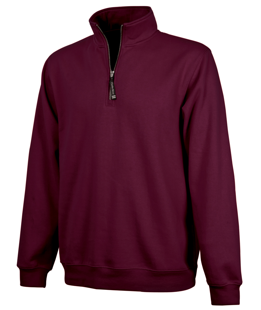 ... Charles River Apparel Style 9359 Crosswind Quarter Zip Sweatshirt  Maroon ... - Charles River Apparel Style 9359 Crosswind Quarter Zip Sweatshirt