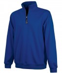 Charles River Apparel Style 9359 Crosswind Quarter Zip Sweatshirt Royal