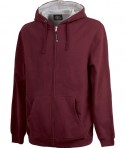 Charles River Apparel 9463 Men's Stratus Hooded Sweatshirt - Maroon